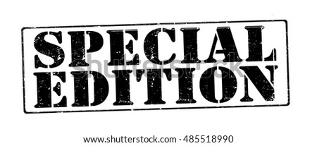 "stamp with text ""special edition"" isolated on white background. Vector illustration"