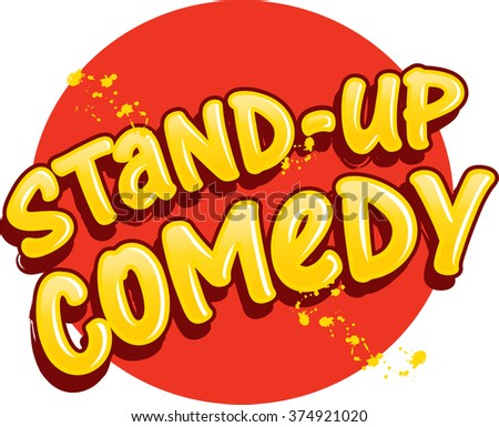 Stand-up Comedy graphic. Vector illustration