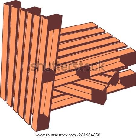 Pallet Stock Vectors & Vector Clip Art   Shutterstock