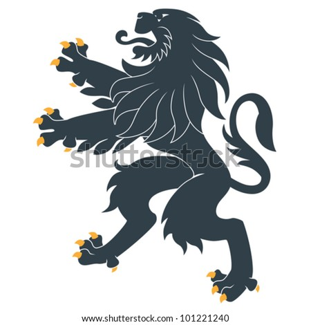 Heraldic Lion Stock Images, Royalty-Free Images & Vectors ...