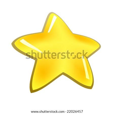 Star - stock vector