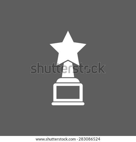 star award icon - stock vector