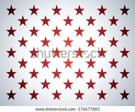 Star background, USA flag theme