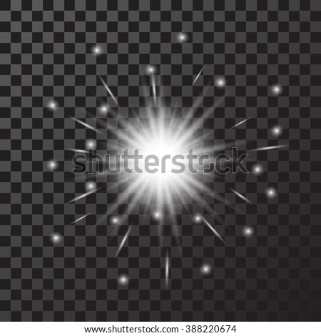 Star burst - stock vector