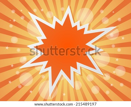 star burst abstract background - concept