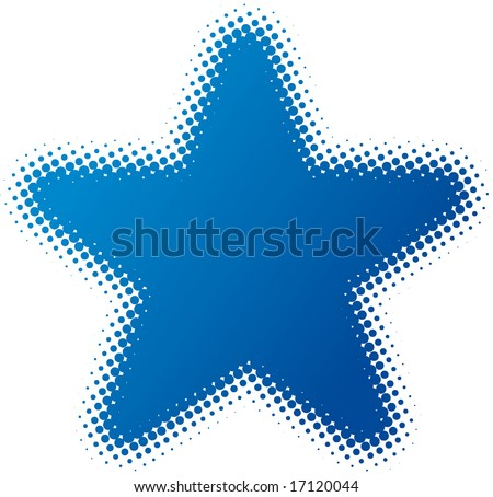 star (dotted design series)