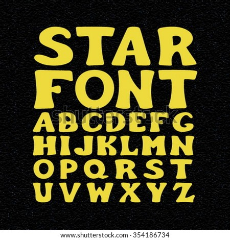 Star Font Vector. Star Font JPEG. Star Font Picture. Star Font JPG. Font Star EPS. Font Star AI. Font Star Drawing. Font Star ABC. Font Star Set. Font Star Letters. Star Font ABC. Star Font Set. - stock vector