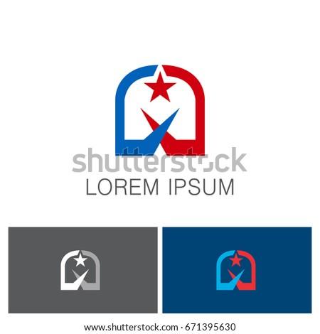 Star Gate Company Logo Stock Vector 671395630 Shutterstock