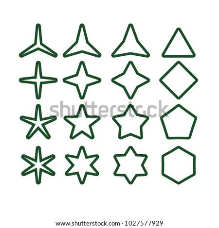 Star vector icon star icon vector stock vector 1027577929 shutterstock star vector icon star icon vector star icon star vector green sciox Gallery
