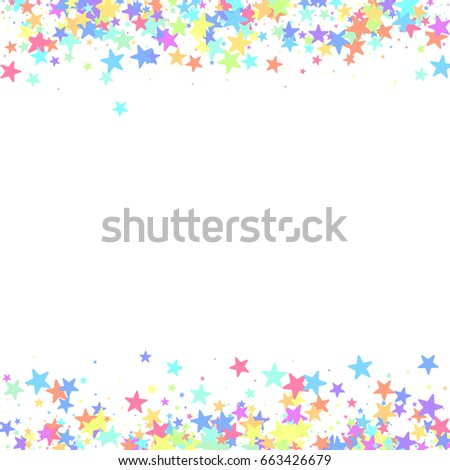 starry background square card star vector stock vector 663426679