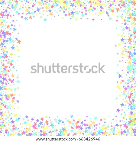 starry background square card star vector stock vector 663426946