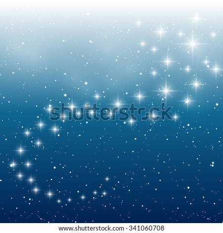 Starry light background for Your design