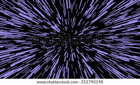 Starry night sky. Stars, sky, night. - stock vector