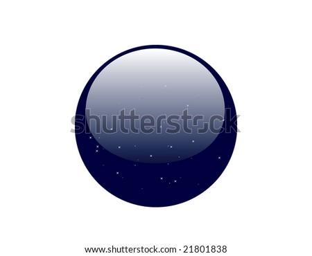 Starry Orb - stock vector