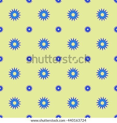 Stars geometric seamless pattern. Fashion graphic background design. Modern stylish abstract texture. Colorful template for prints, textiles, wrapping, wallpaper, website etc Stock VECTOR illustration
