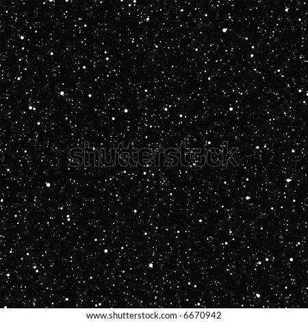 Stars in Space - stock vector
