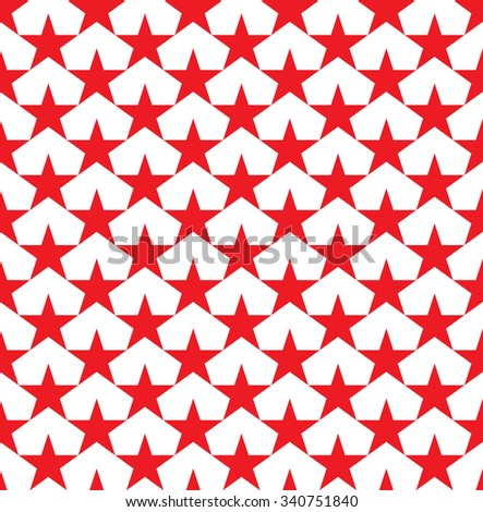 Stars pattern. Seamless geometric pattern.