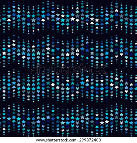 stars pattern. Seamless vector pattern - stock vector