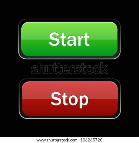 start stop stock photos images pictures shutterstock. Black Bedroom Furniture Sets. Home Design Ideas