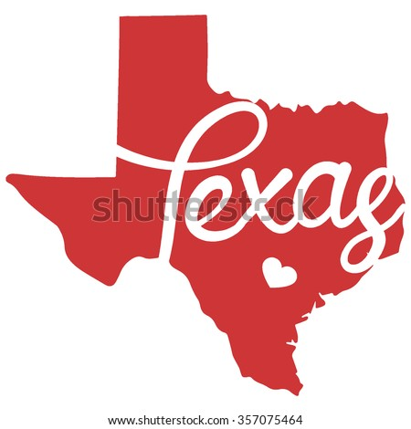 State of Texas - stock vector