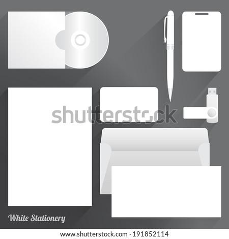 Stationery - stock vector