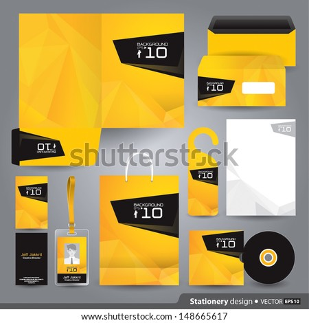 corporate identity template stock images royalty free images