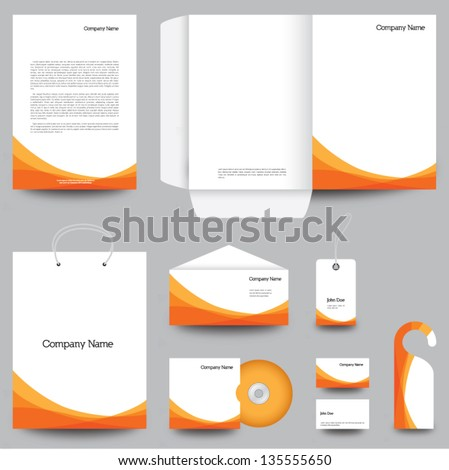 Letterhead Template Images RoyaltyFree Images Vectors – Stationery Templates for Designers