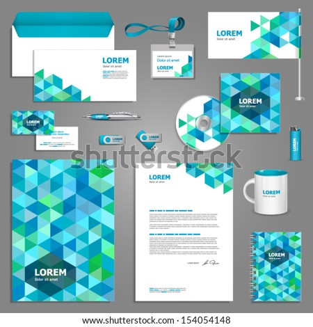 Corporate Identity Images RoyaltyFree Images Vectors – Stationery Templates for Designers