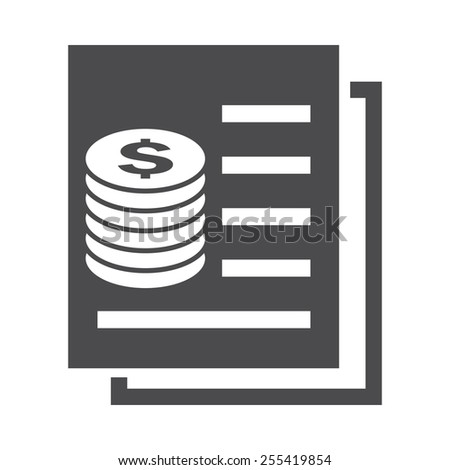 Statistics vector image to be used in web applications, mobile applications and print media. - stock vector
