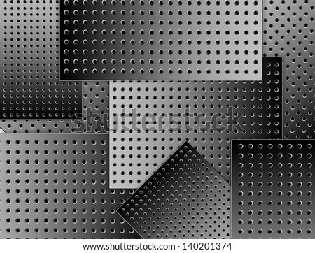 steel - stock vector