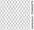 Steel Wire Mesh Seamless Background. Vector illustration - stock photo