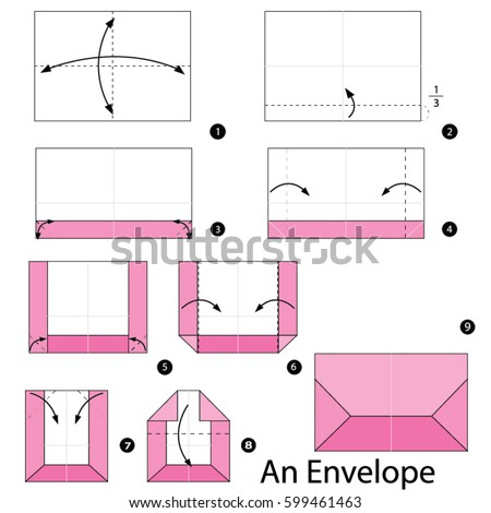 Step By Step Instructions How Make Stock Vector 599461463