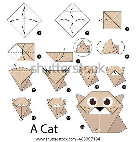 origami instructions stock images royaltyfree images