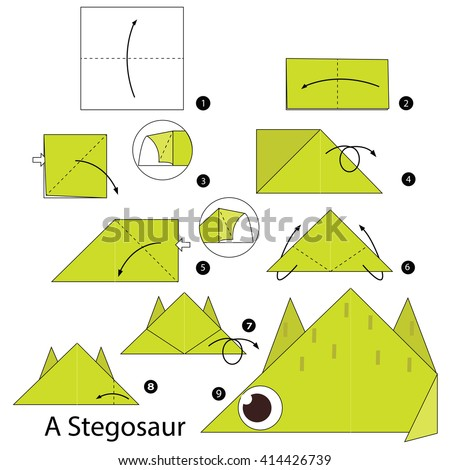 Step By Step Instructions How Make Stock Vector 414426739 Shutterstock