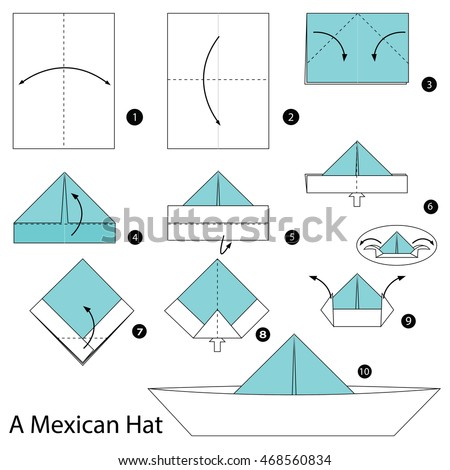 origami paper hat images origami instructions easy for kids