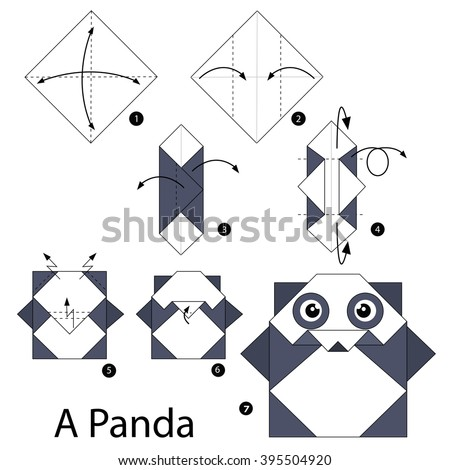 how to make an origami panda 28 images step by step