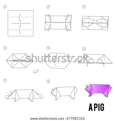 Step By Step Instructions How Make Stock Vector 677081326 Shutterstock