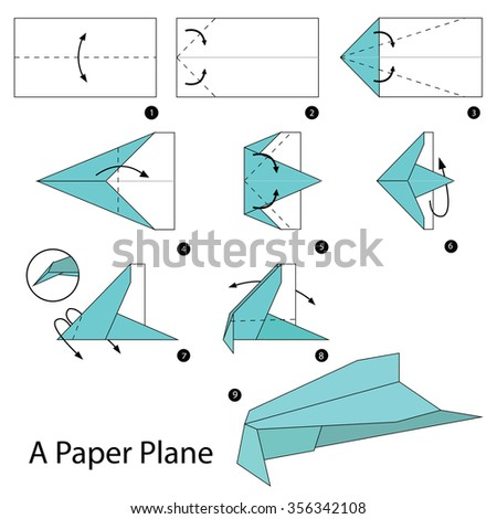 how to make an origami person instructions