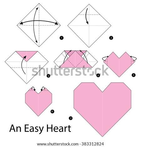 INSTRUCTIONS HEART ORIGAMI
