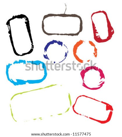 Step slops - stock vector