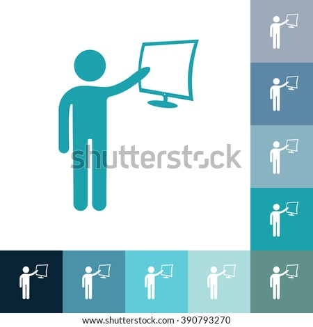 stick figure of human silhouette