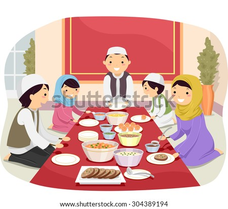 Family Eating Stock Images, Royalty-Free Images & Vectors ...