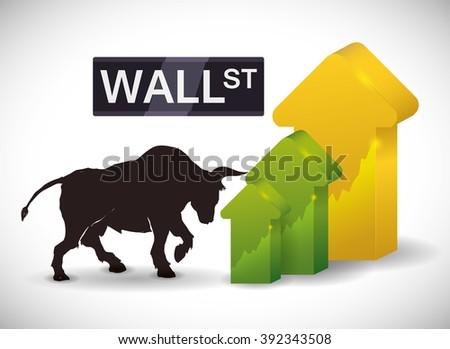 Stock exchange design  - stock vector