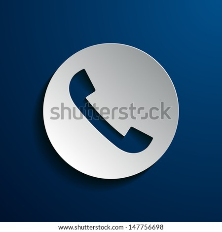 Stock icons phone - stock vector