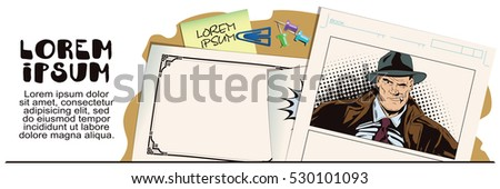 stock illustration people retro style presentation stock vector, Presentation templates