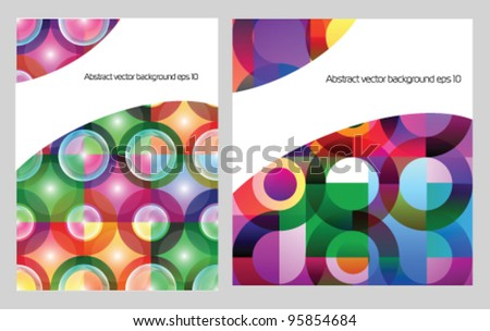 Stock vector colorful background for presentation - stock vector