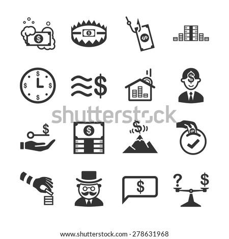 Stock Vector Illustration: Financial - stock vector