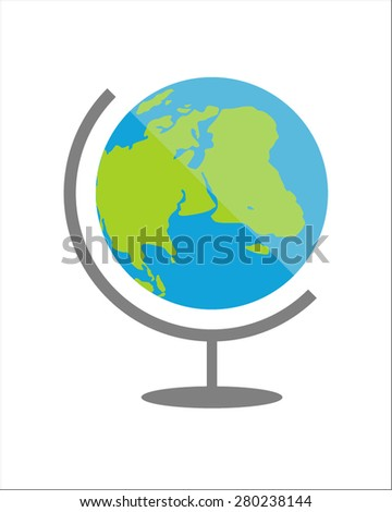 Stock vector of globe icon - stock vector