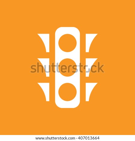 stock vector the traffic light icon stoplight and semaphore cros - stock vector