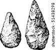 Stone age - stock vector